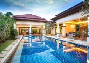 Diseño vivienda lujo con piscina en Marbella - Trabajos GSC