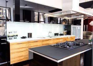 Interiorismo cocina de madera - Trabajos GSC