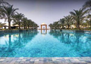 Piscina de hotel de lujo en Marbella - Trabajos GSC
