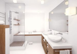 Reforma baño moderno Málaga - Trabajos GSC