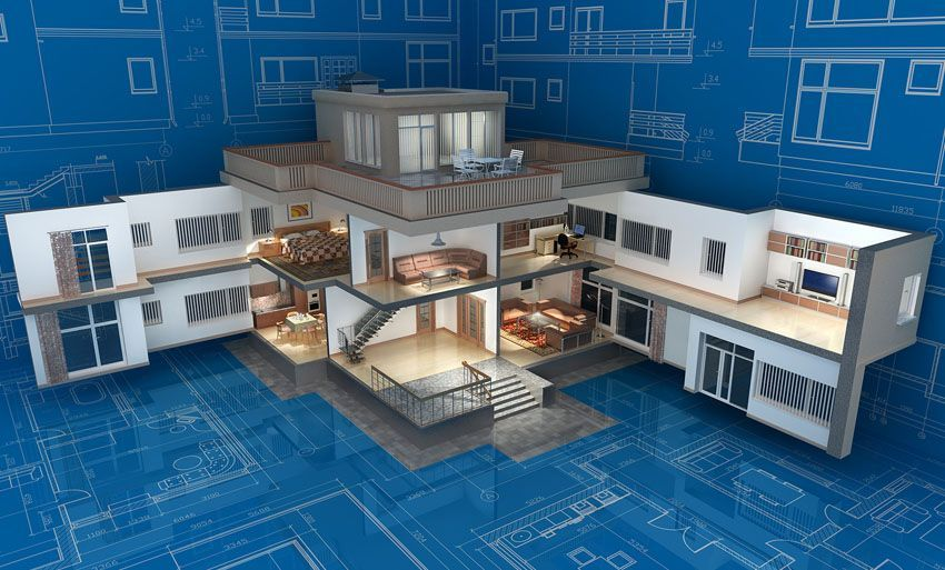 Home layout and space allocation