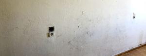 quitar gotele y alisar paredes