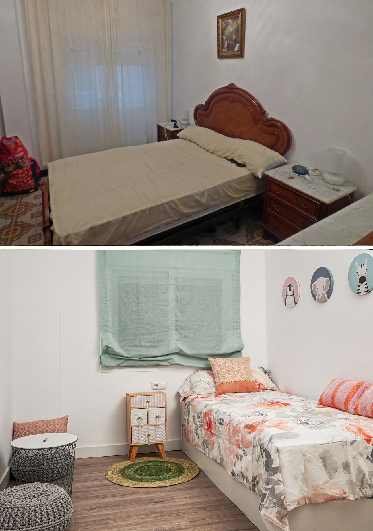 Reforma habitación niña