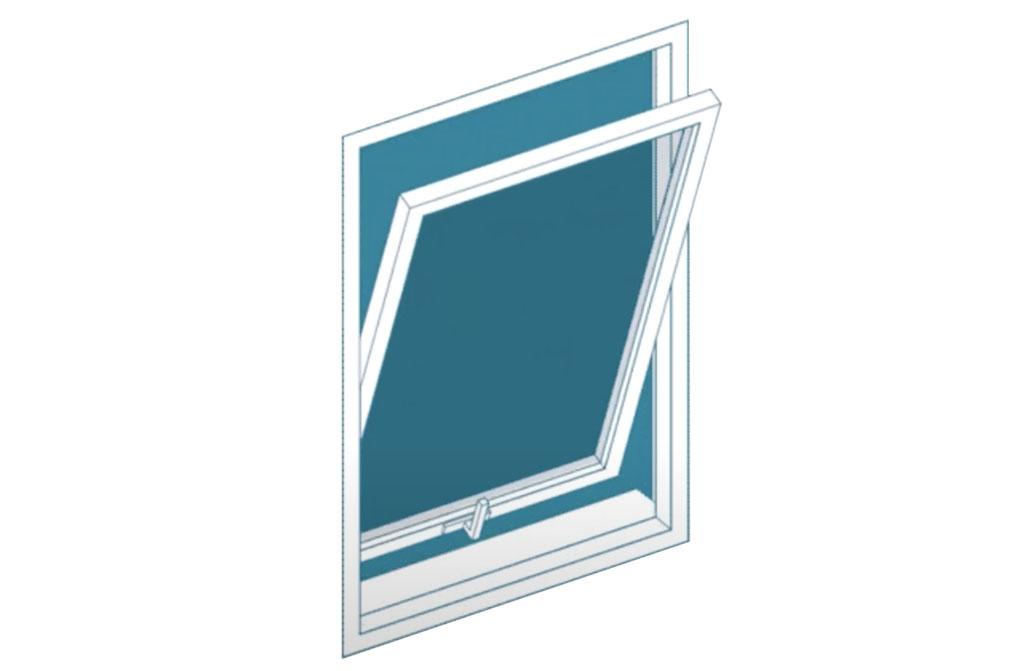 ventana basculante